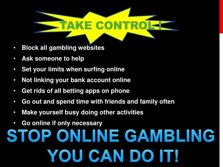 Take control !