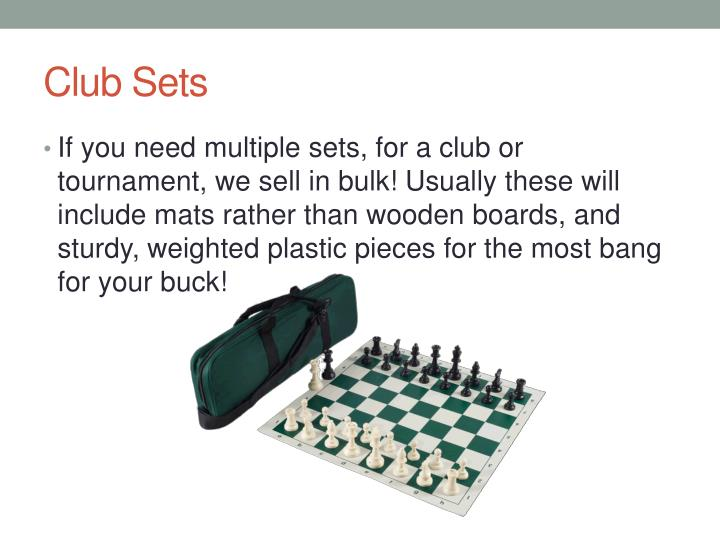 Club Sets