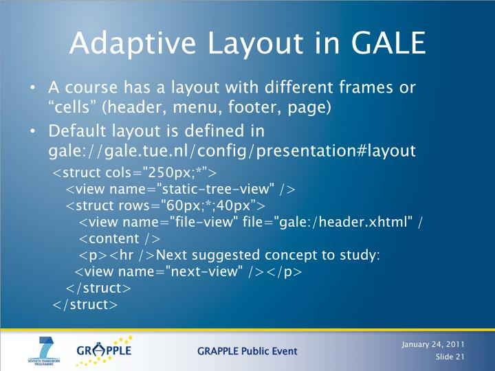 Adaptive Layout