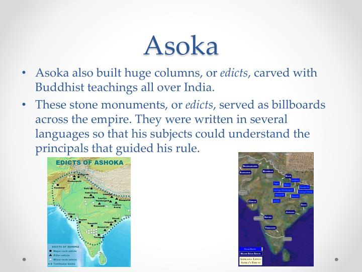the reign of the ruthless conqueror ashoka Asoka mini-q asoka: ruthless conqueror or enlightened kalinga was conquered in the ninth year of asoka's reign after this conquest, asoka ceased to indulge in.
