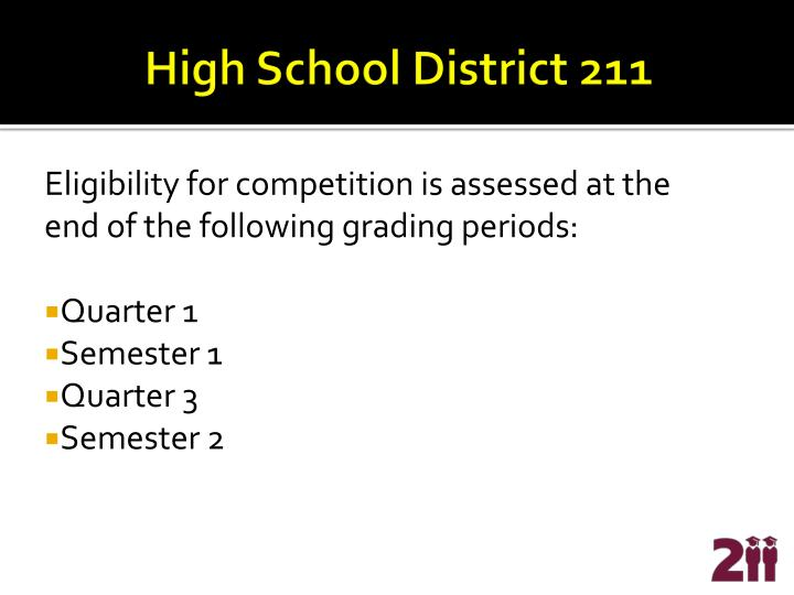 High School District 211