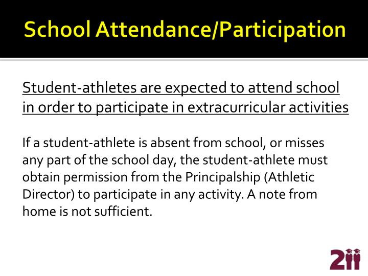 School Attendance/Participation