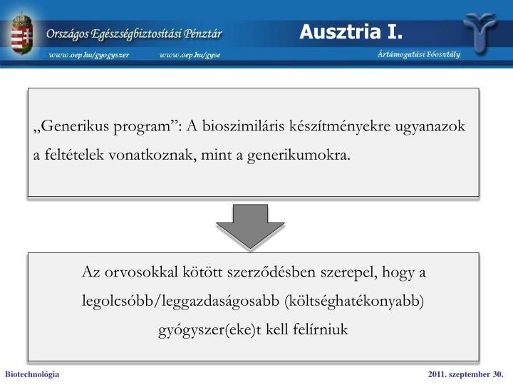 Ausztria I.