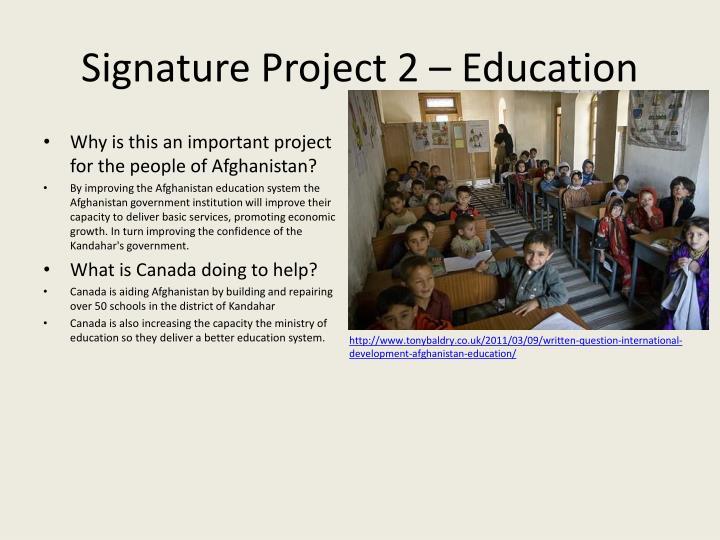 Signature Project 2 –