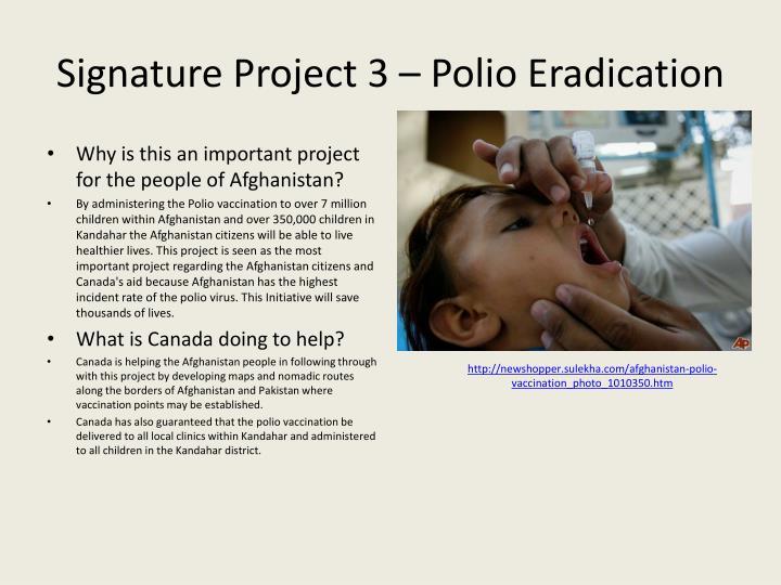 Signature Project 3 –