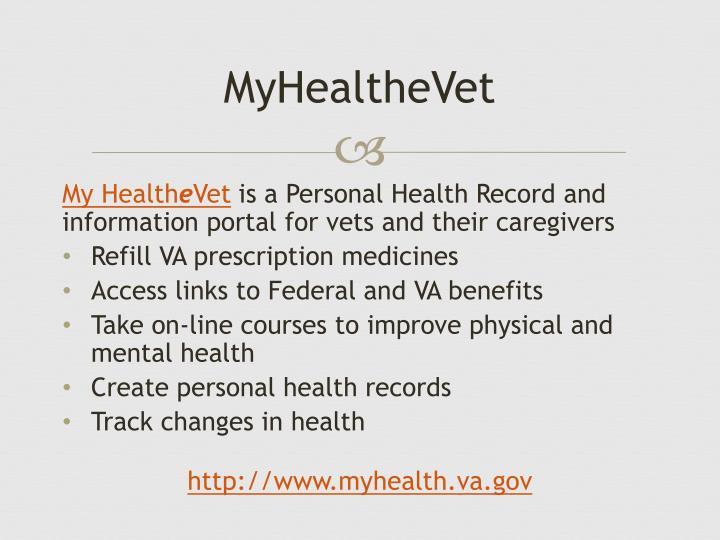 MyHealtheVet