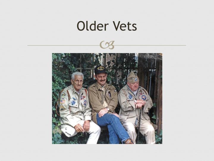 Older Vets