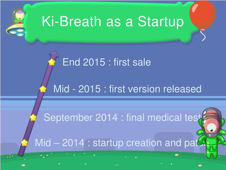 Ki-Breath as a Startup