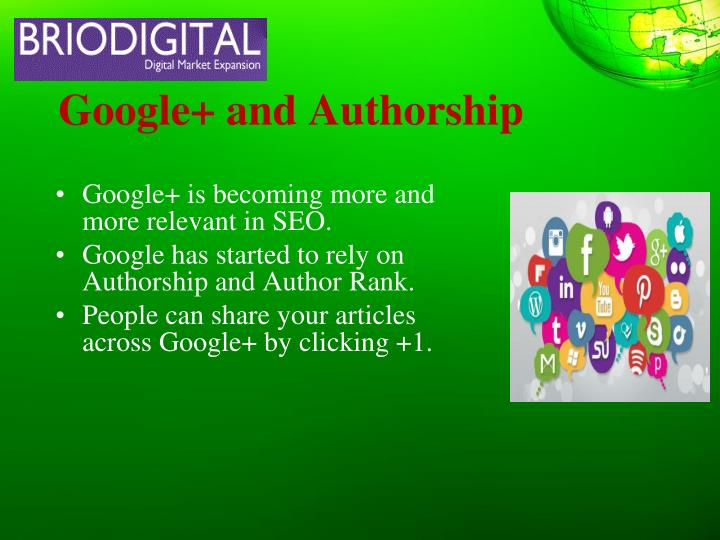 Google and authorship