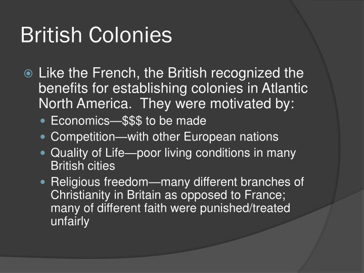 British Colonies