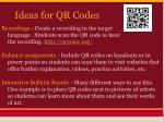 ideas for qr codes1