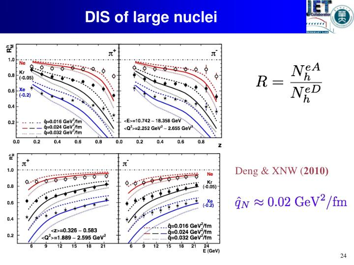 DIS of large nuclei