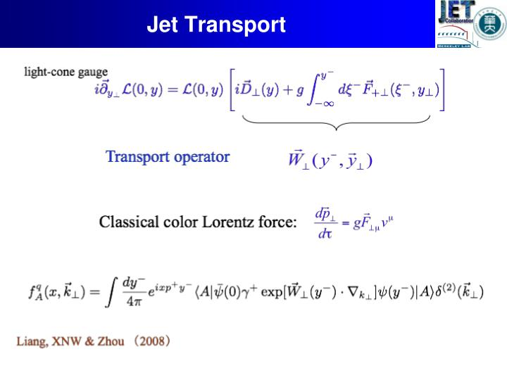 Jet Transport