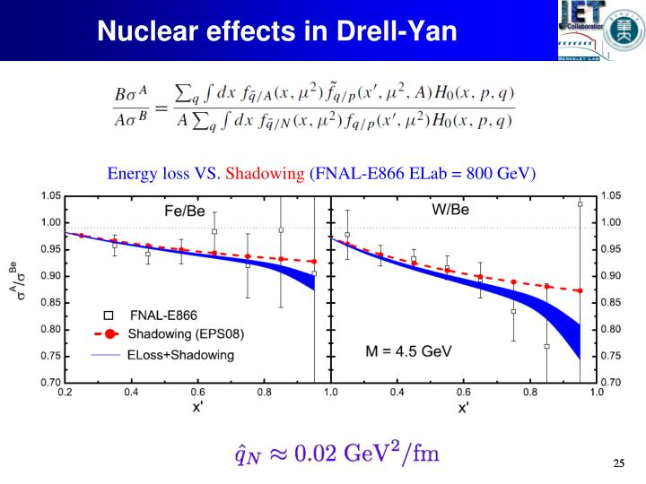 Nuclear effects in