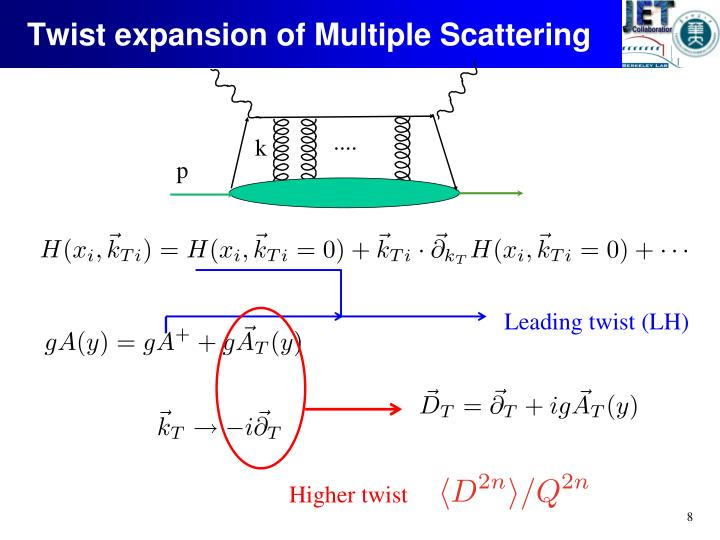 Twist expansion of Multiple Scattering