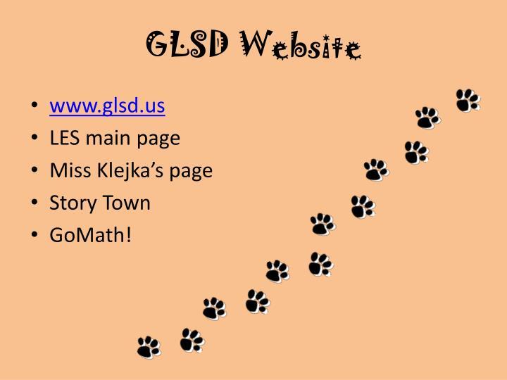 GLSD Website