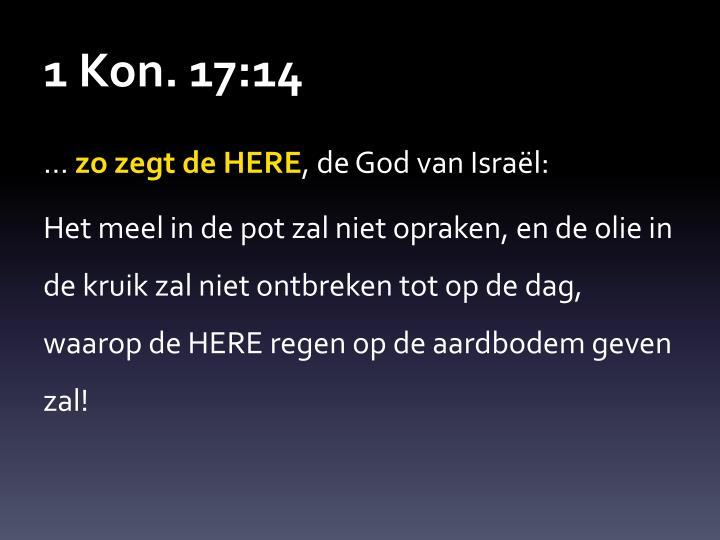 1 Kon. 17: