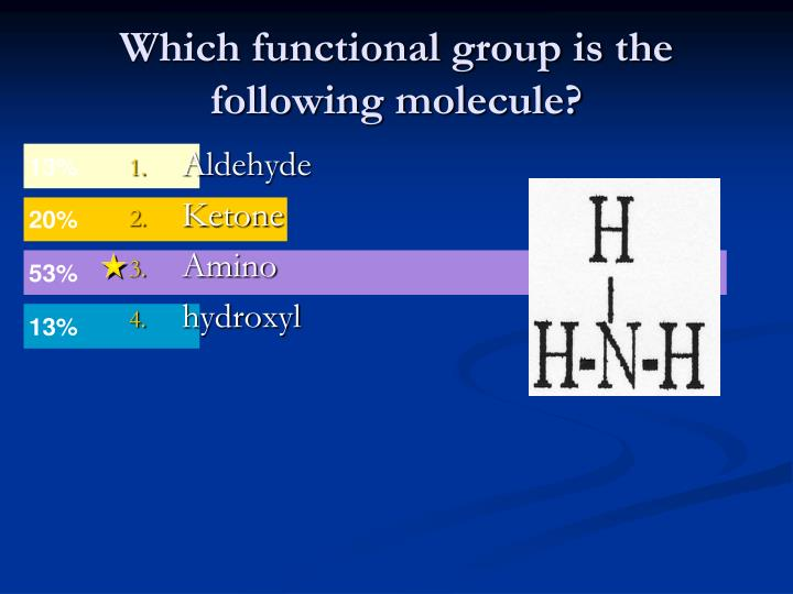 Which functional group is the following molecule?