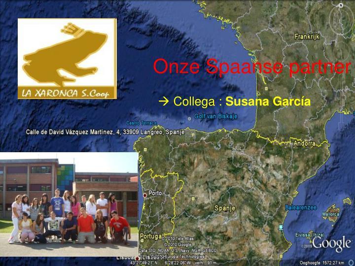 Onze Spaanse partner