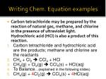 writing chem equation examples1