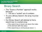 binary search1