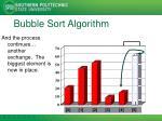 bubble sort algorithm9