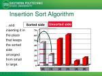 insertion sort algorithm3