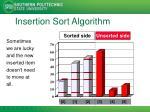 insertion sort algorithm5