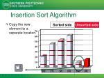 insertion sort algorithm7