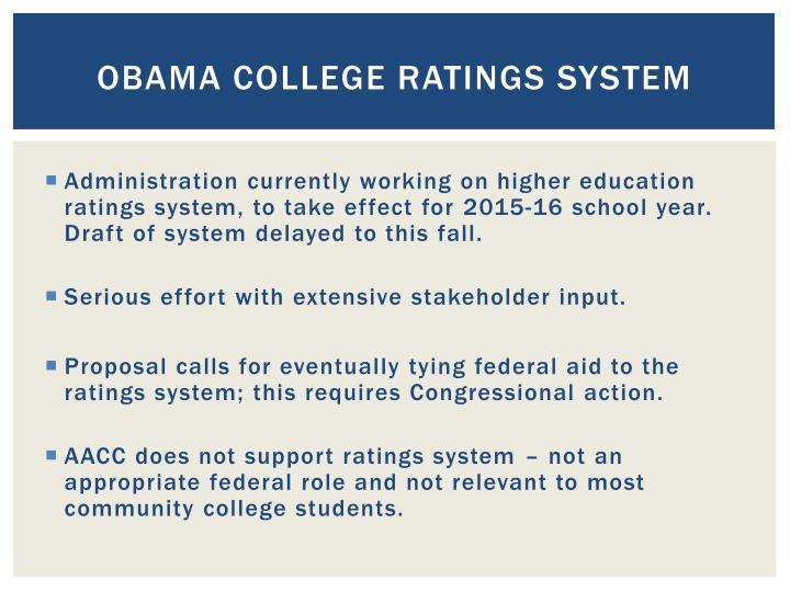 Obama College