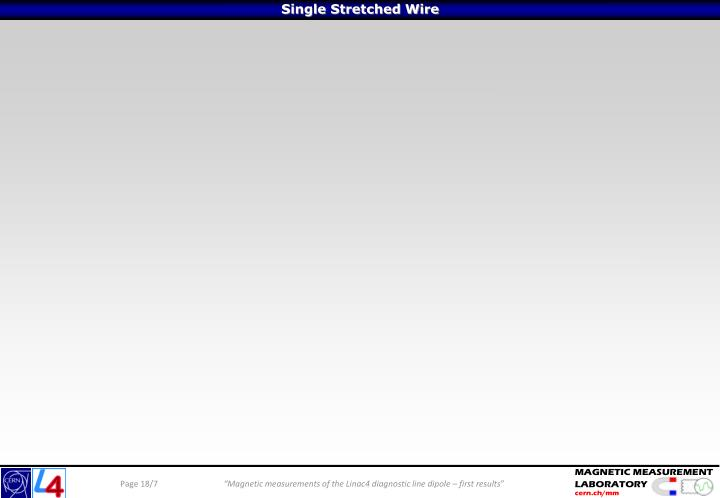 Single Stretched Wire