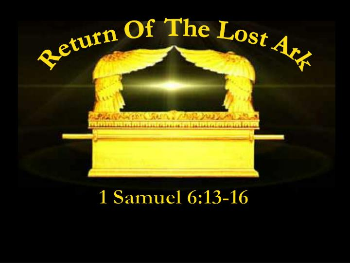 Return Of The Lost Ark