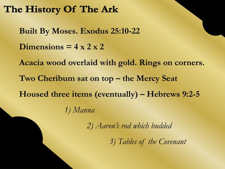 The History Of The Ark