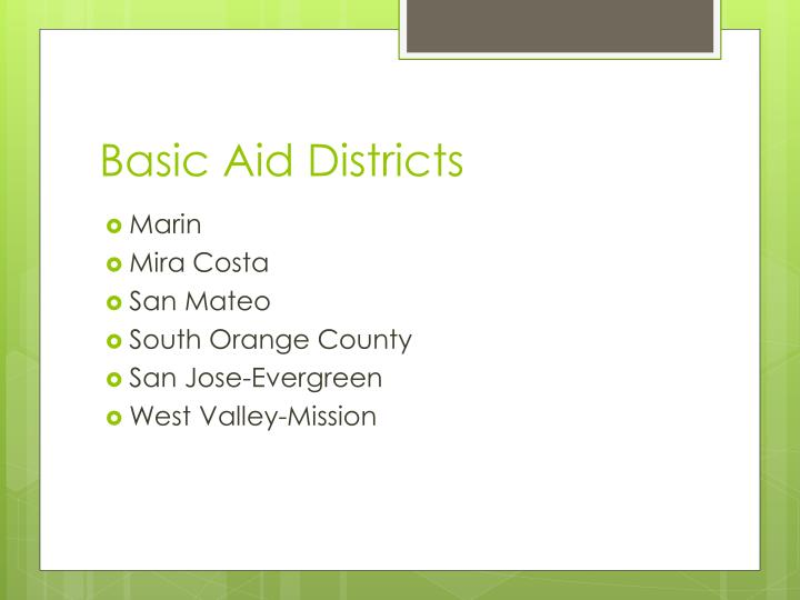 Basic Aid