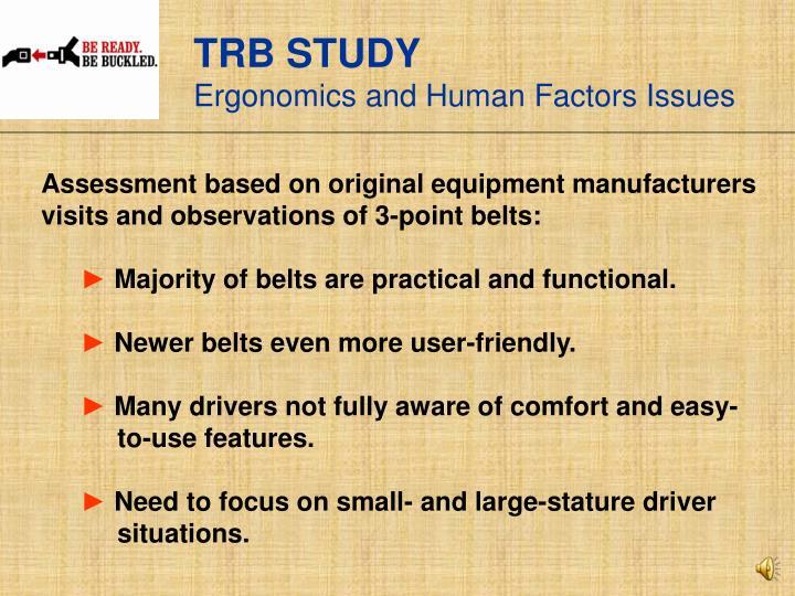 TRB STUDY