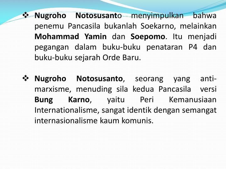 Nugroho Notosusant