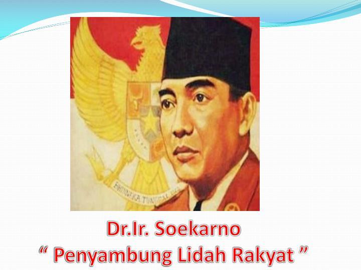 Dr.Ir. Soekarno
