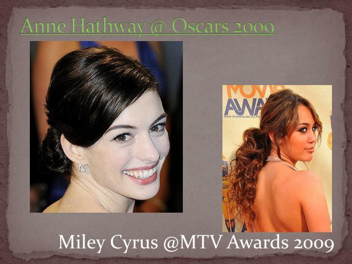 Anne Hathway @ Oscars 2009