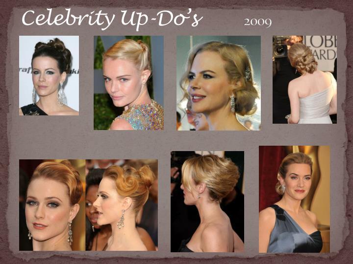 Celebrity Up-Do's