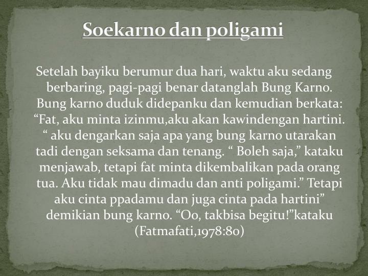Soekarno dan poligami