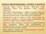 africa mediterranea storia e societ