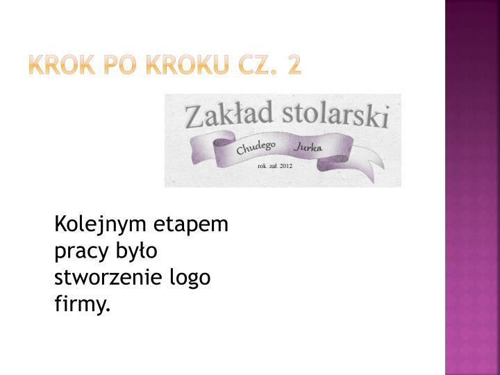 Krok po kroku cz. 2