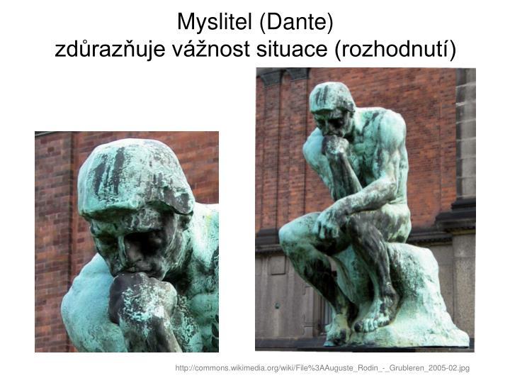 Myslitel (Dante)