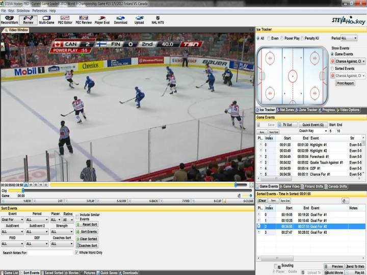 Steva Hockey Software