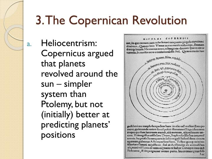 3. The Copernican Revolution