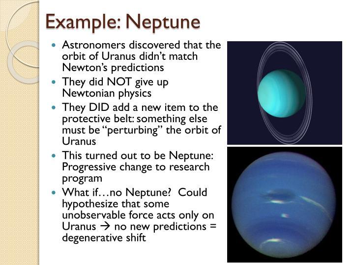 Example: Neptune