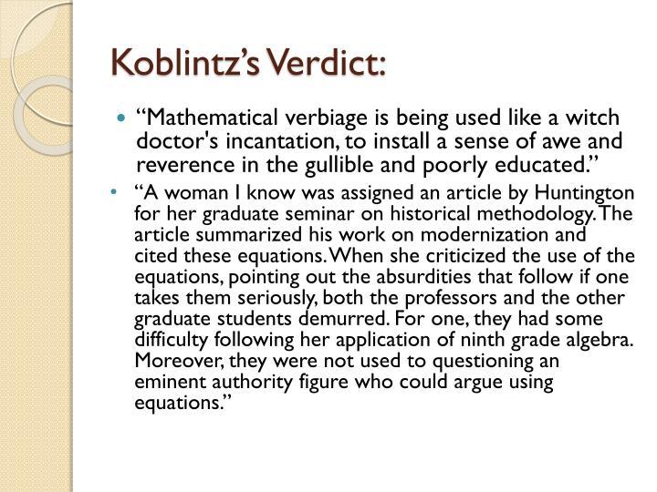 Koblintz's