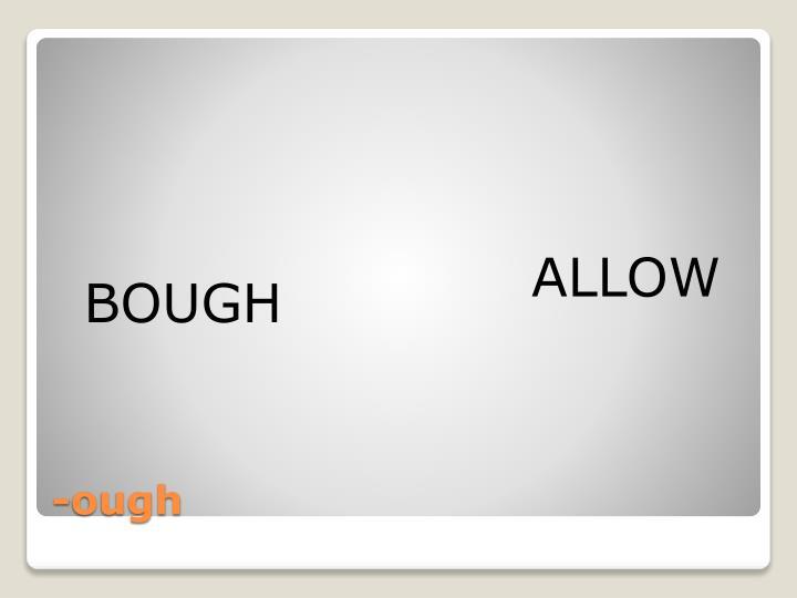 BOUGH