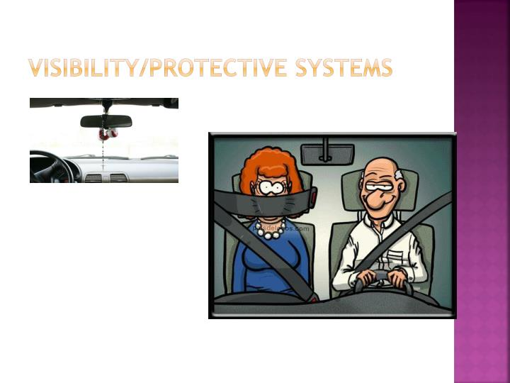 Visibility protective systems