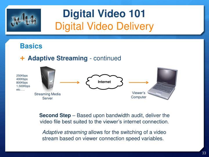 Adaptive Streaming